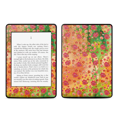 Amazon Kindle Paperwhite Skin - Garden Flowers