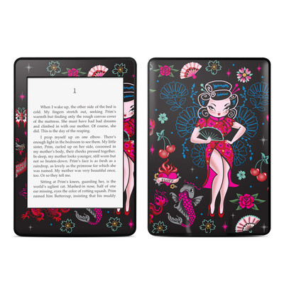 Amazon Kindle Paperwhite Skin - Geisha Gal