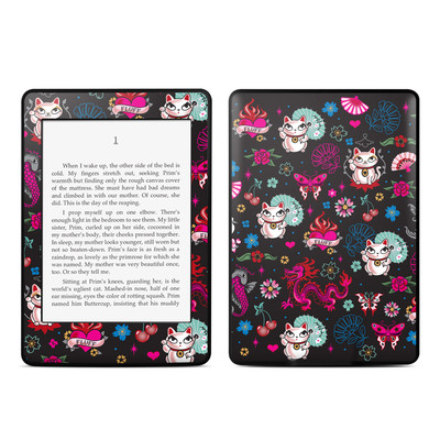 Amazon Kindle Paperwhite Skin - Geisha Kitty