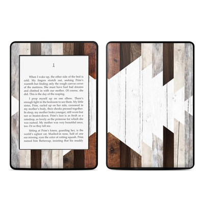 Amazon Kindle Paperwhite Skin - Geo Wood