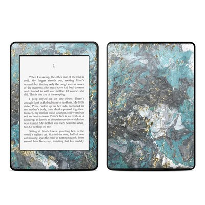 Amazon Kindle Paperwhite Skin - Gilded Glacier Marble