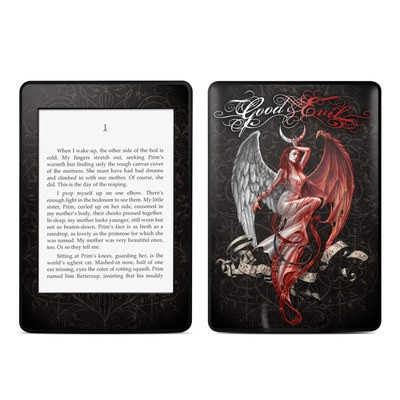 Amazon Kindle Paperwhite Skin - Good and Evil