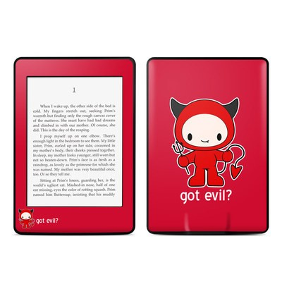 Amazon Kindle Paperwhite Skin - Got Evil