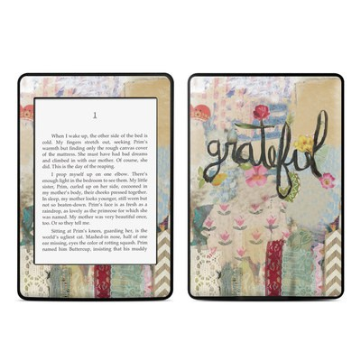Amazon Kindle Paperwhite Skin - Grateful