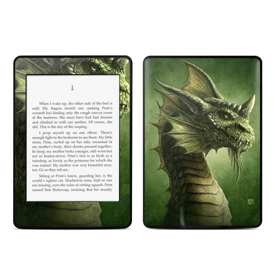 Amazon Kindle Paperwhite Skin - Green Dragon