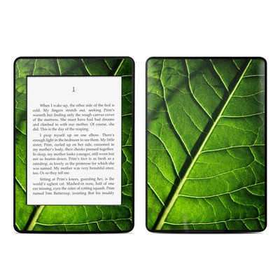 Amazon Kindle Paperwhite Skin - Green Leaf