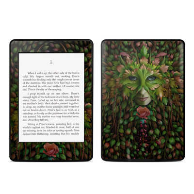 Amazon Kindle Paperwhite Skin - Green Woman