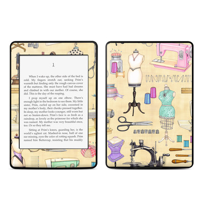 Amazon Kindle Paperwhite Skin - Haberdashery