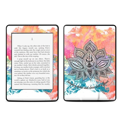Amazon Kindle Paperwhite Skin - Happy Lotus