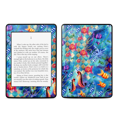 Amazon Kindle Paperwhite Skin - Harlequin Seascape