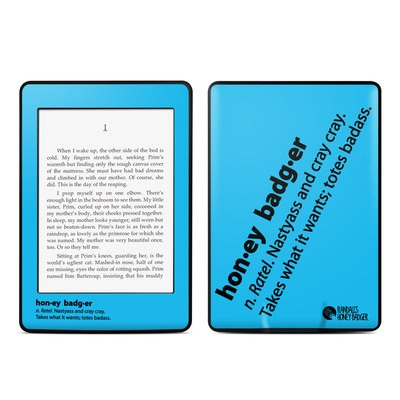 Amazon Kindle Paperwhite Skin - Honey Badger Definition