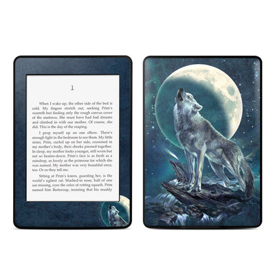 Amazon Kindle Paperwhite Skin - Howling Moon Soloist