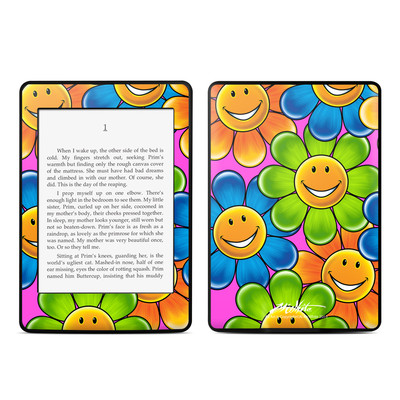 Amazon Kindle Paperwhite Skin - Happy Daisies