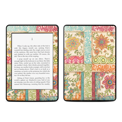 Amazon Kindle Paperwhite Skin - Ikat Floral