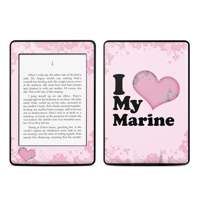 Amazon Kindle Paperwhite Skin - I Love My Marine