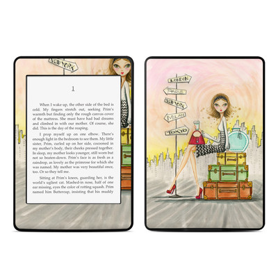 Amazon Kindle Paperwhite Skin - The Jet Setter