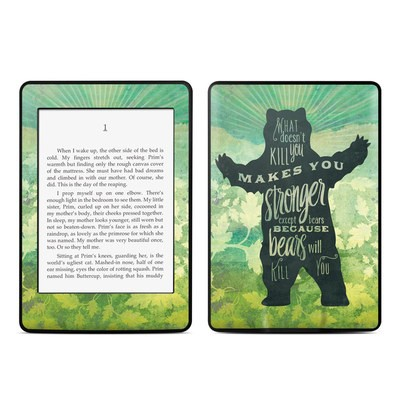 Amazon Kindle Paperwhite Skin - What Doesnt Kill You