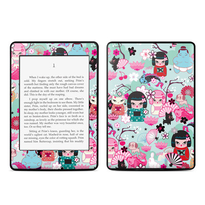 Amazon Kindle Paperwhite Skin - Kimono Cuties