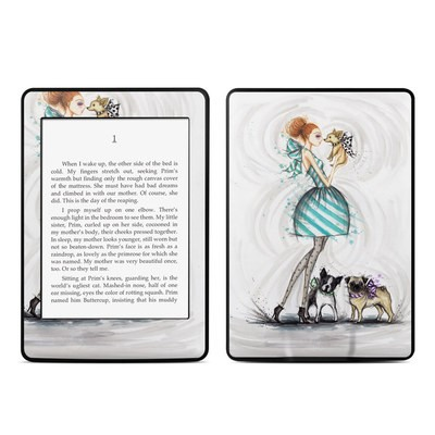 Amazon Kindle Paperwhite Skin - A Kiss for Dot