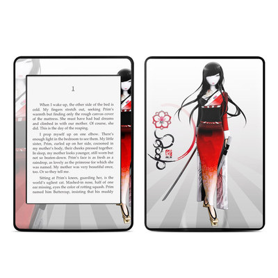 Amazon Kindle Paperwhite Skin - Kokeshi