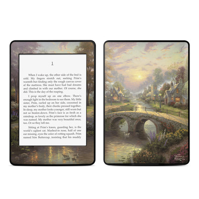 Amazon Kindle Paperwhite Skin - Sunset On Lamplight Lane