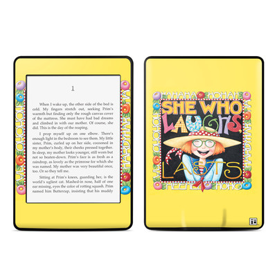 Amazon Kindle Paperwhite Skin - She Who Laughs