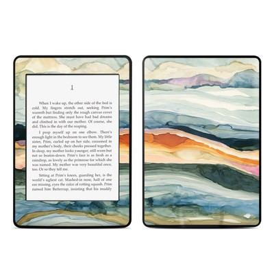 Amazon Kindle Paperwhite Skin - Layered Earth