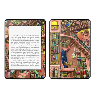 Amazon Kindle Paperwhite Skin - Library Magic