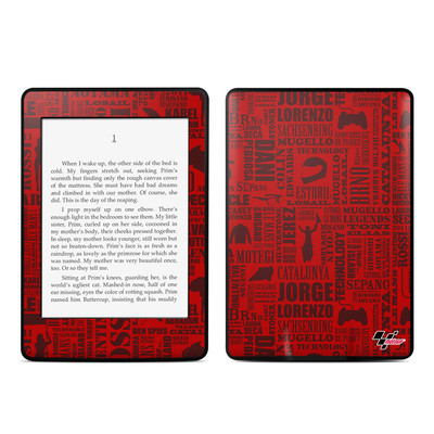 Amazon Kindle Paperwhite Skin - Life of MotoGP