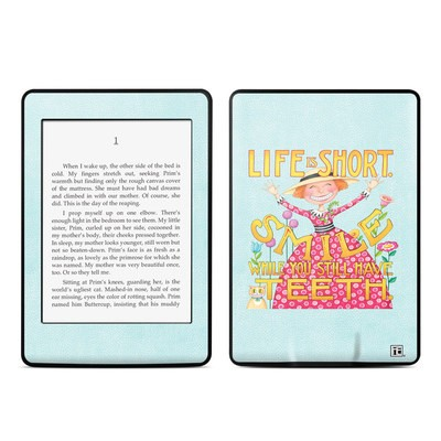 Amazon Kindle Paperwhite Skin - Life is Short