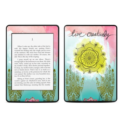 Amazon Kindle Paperwhite Skin - Live Creative
