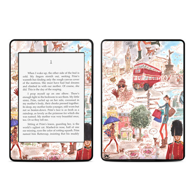 Amazon Kindle Paperwhite Skin - London