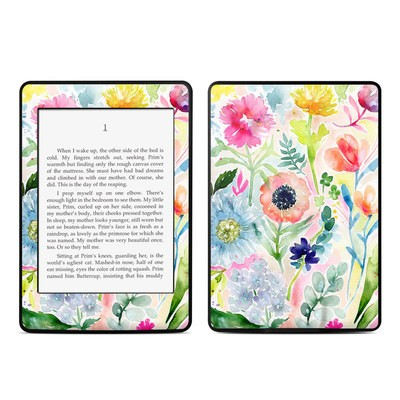 Amazon Kindle Paperwhite Skin - Loose Flowers