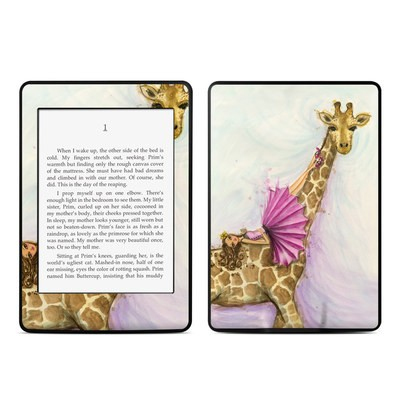Amazon Kindle Paperwhite Skin - Lounge Giraffe