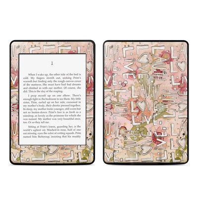 Amazon Kindle Paperwhite Skin - Love Floral