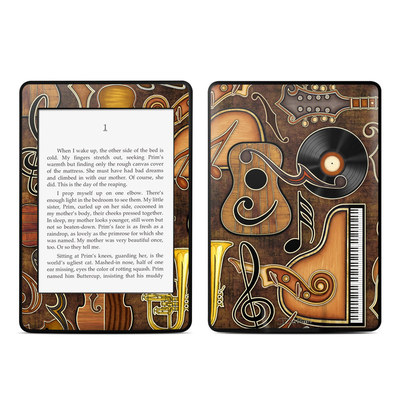 Amazon Kindle Paperwhite Skin - Music Elements