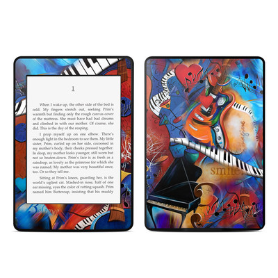 Amazon Kindle Paperwhite Skin - Music Madness