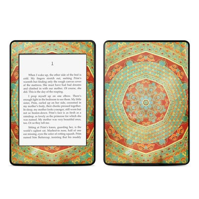 Amazon Kindle Paperwhite Skin - Mandala Citrus