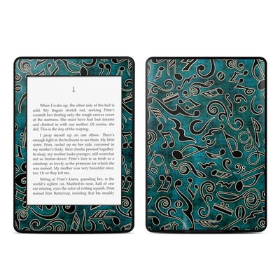 Amazon Kindle Paperwhite Skin - Music Notes