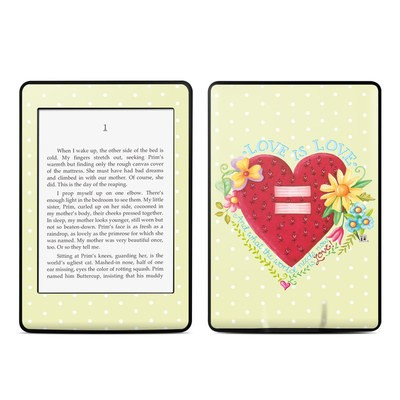 Amazon Kindle Paperwhite Skin - Love Is What We Need