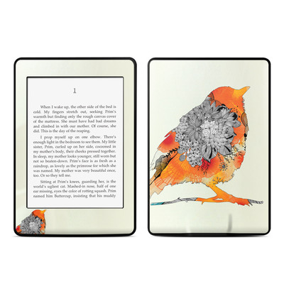 Amazon Kindle Paperwhite Skin - Orange Bird