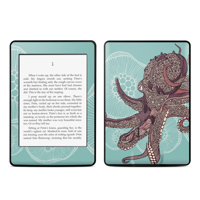 Amazon Kindle Paperwhite Skin - Octopus Bloom