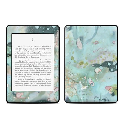 Amazon Kindle Paperwhite Skin - Organic In Blue