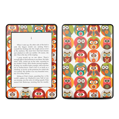 Amazon Kindle Paperwhite Skin - Owls Family