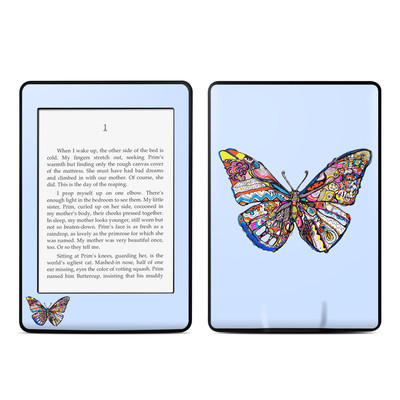 Amazon Kindle Paperwhite Skin - Pieced Butterfly