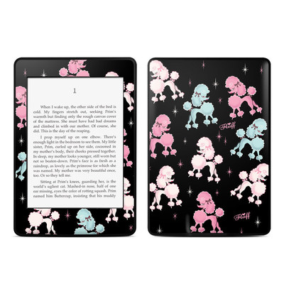 Amazon Kindle Paperwhite Skin - Poodlerama