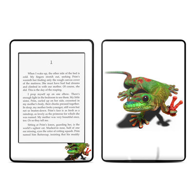Amazon Kindle Paperwhite Skin - Peace Gecko