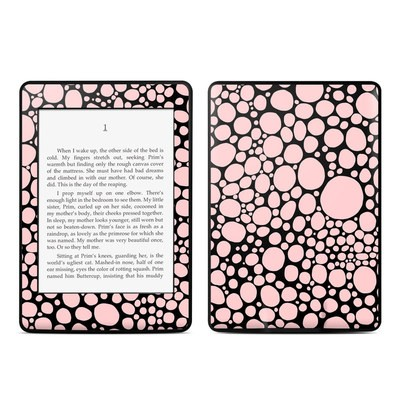 Amazon Kindle Paperwhite Skin - Pink Bubbles