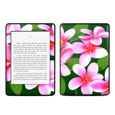 Amazon Kindle Paperwhite Skin - Pink Plumerias