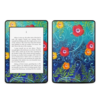 Amazon Kindle Paperwhite Skin - Poppies